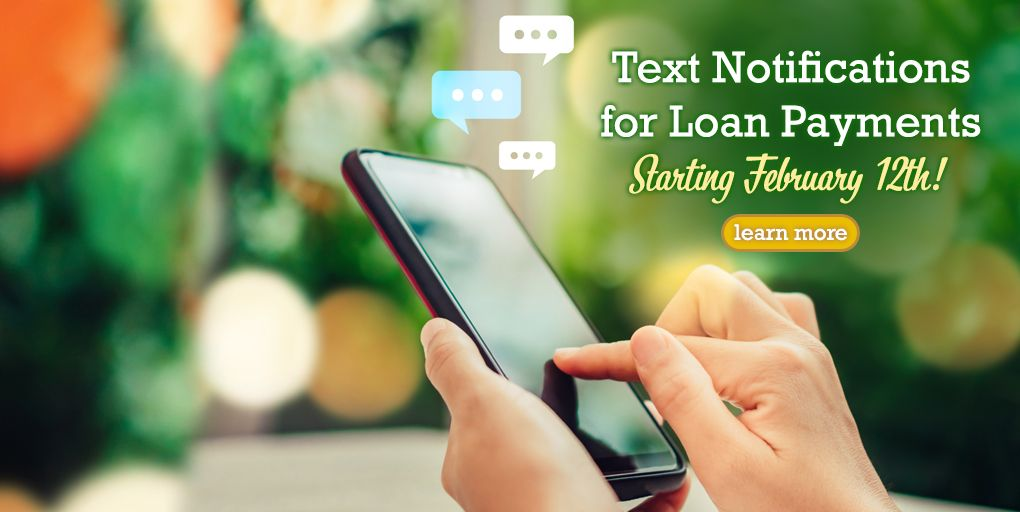 Loan Payment Text Notifications