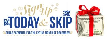 Holiday Skip-A-Pay 2018